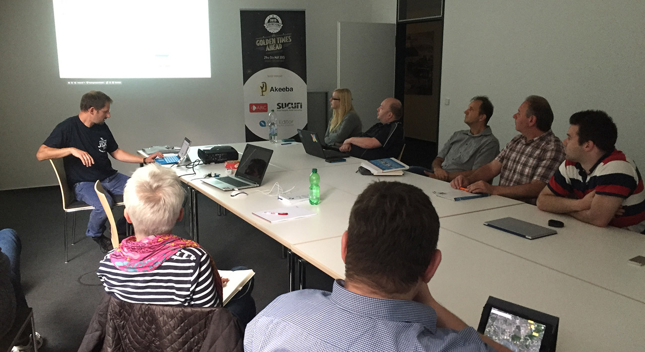 Sommertreffen der Joomla User Group Frankfurt