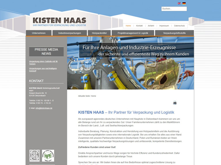 Kisten Haas Screendesign